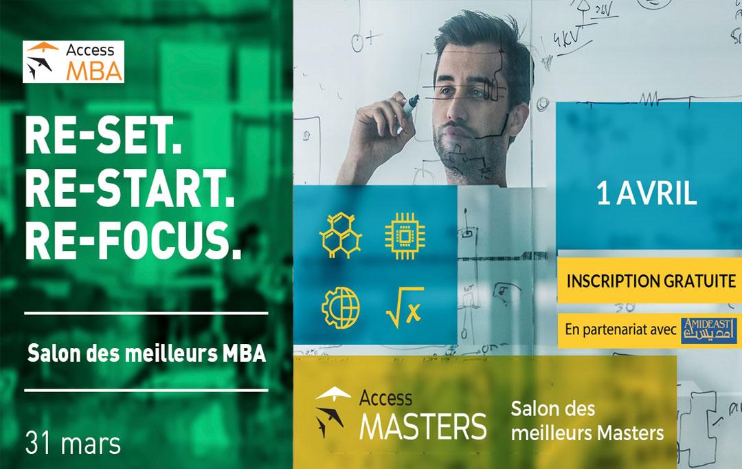 SEVE est partenaire du salon virtuel MBA & Masters